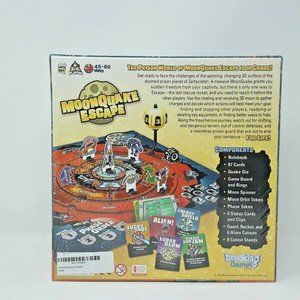 Breaking Games Toys - Moonquake Escape Board Game Breaking Games Toys